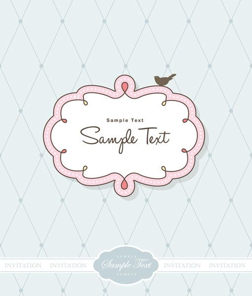 510x600 Cute Frame Clip Art Cute Vector Frames Set Of 13 Nice And Cute