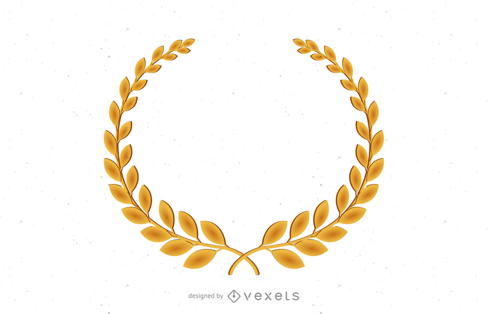 1701x1096 Golden Olive Branch Vector