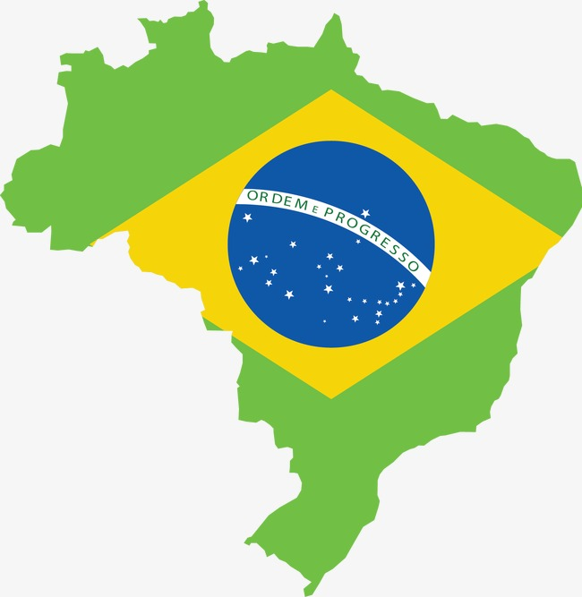 650x667 Brazilian Flag Map, Flag Vector, Map Vector, Brazil Png And Vector