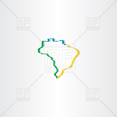 Brazil Map Vector at GetDrawings com | Free for personal use