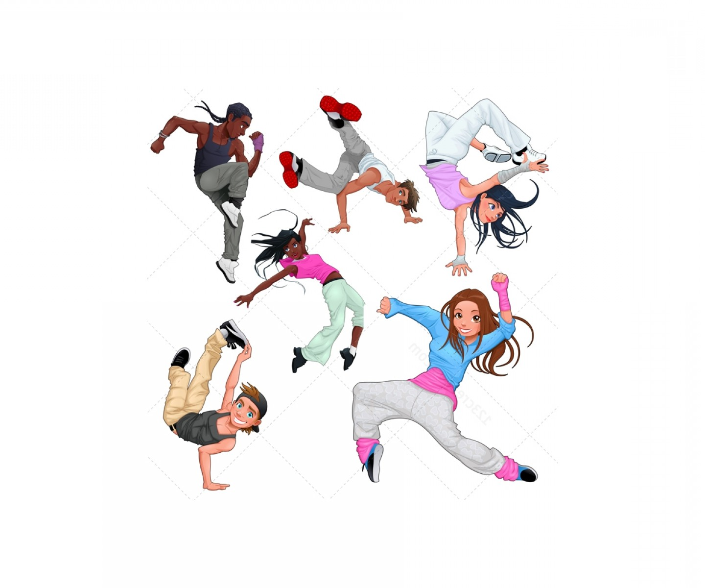 1440x1200 Breakdance Vector Characters Modern Dance Vectors Arenawp