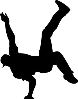 270x340 A Cool Vector Image Or A Bboy Doing An Air Chair Project 3