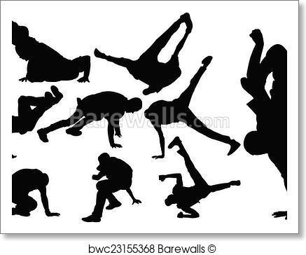 437x364 Art Print Of Breakdance