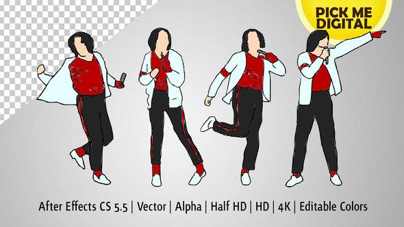 590x332 Break Dance Moves In Vector By Pickmedigital Videohive