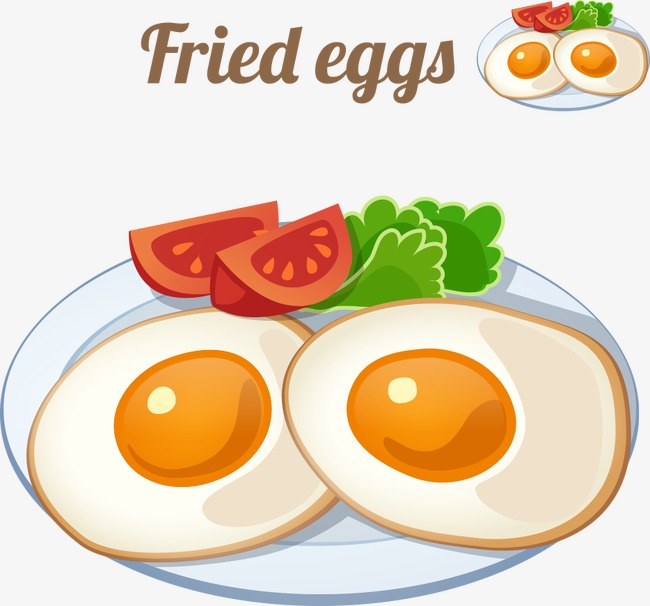 650x606 Vector Cartoon Breakfast, Cartoon Breakfast, Breakfast, Vector
