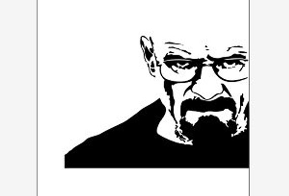 570x388 Breaking Bad Vector Clipart Pdf Svg Eps Png Dxf Instant Etsy