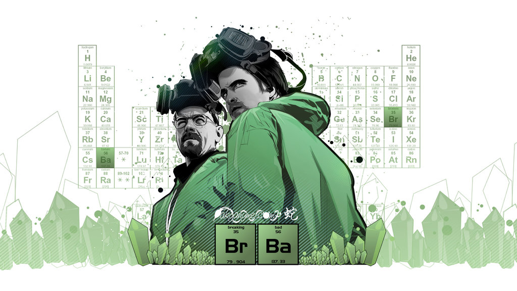 1024x576 Breaking Bad Vector By Akyanyme