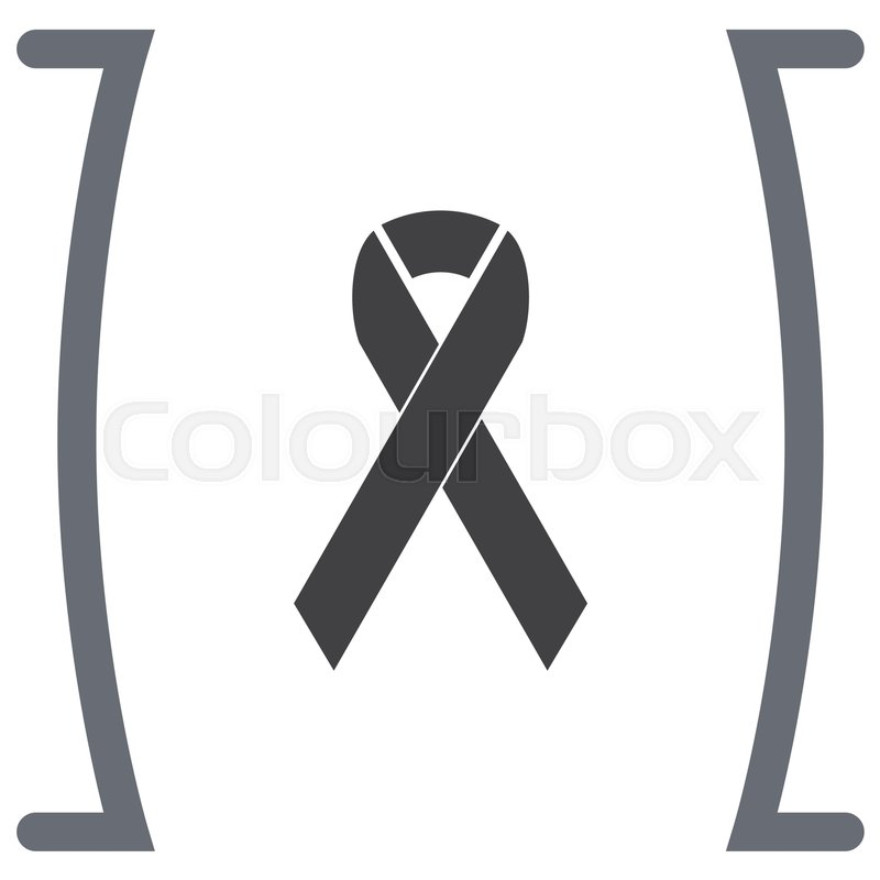 800x800 Breast Cancer Awareness Ribbon Vector Icon Stock Vector Colourbox