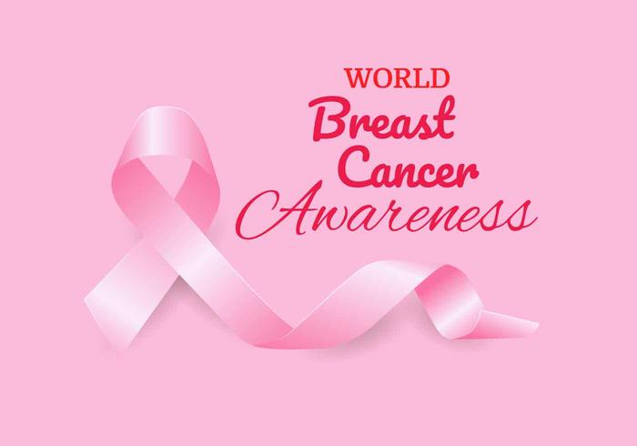 700x490 Breast Cancer Awareness Ribbon Vector