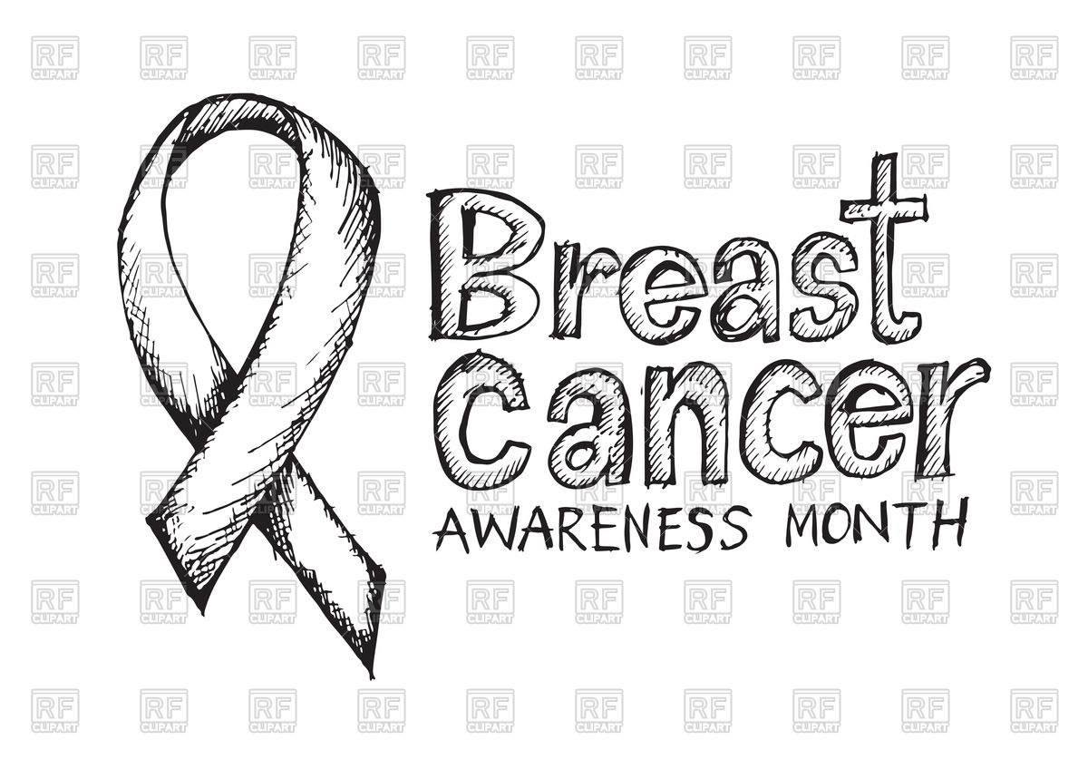 1200x848 Breast Cancer Awareness Vector Image Vector Artwork Of