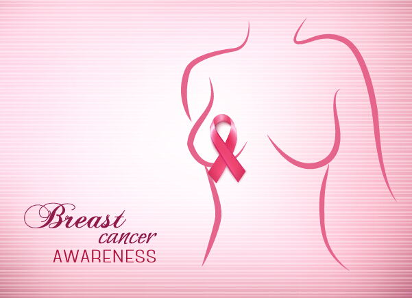 601x436 Breast Cancer Awareness Advertising Posters Pink Styles Vector 02
