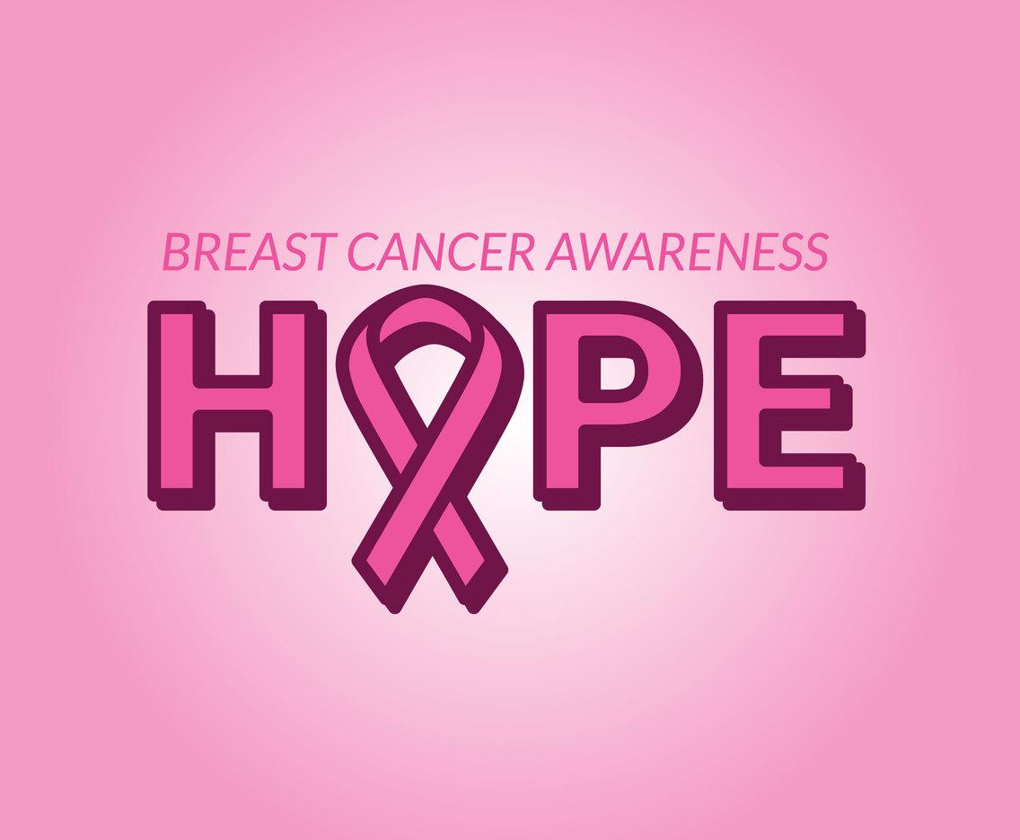 1136x936 Hope Breast Cancer Awareness Vector Vector Art Amp Graphics