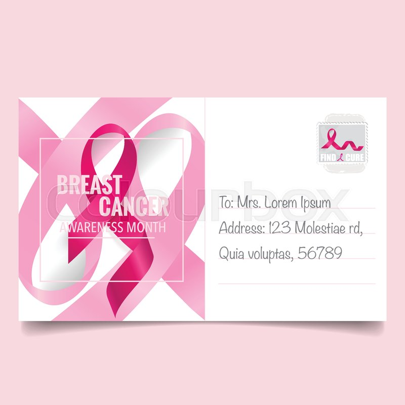 800x800 Breast Cancer Awareness Month Background Design. Breast Cancer