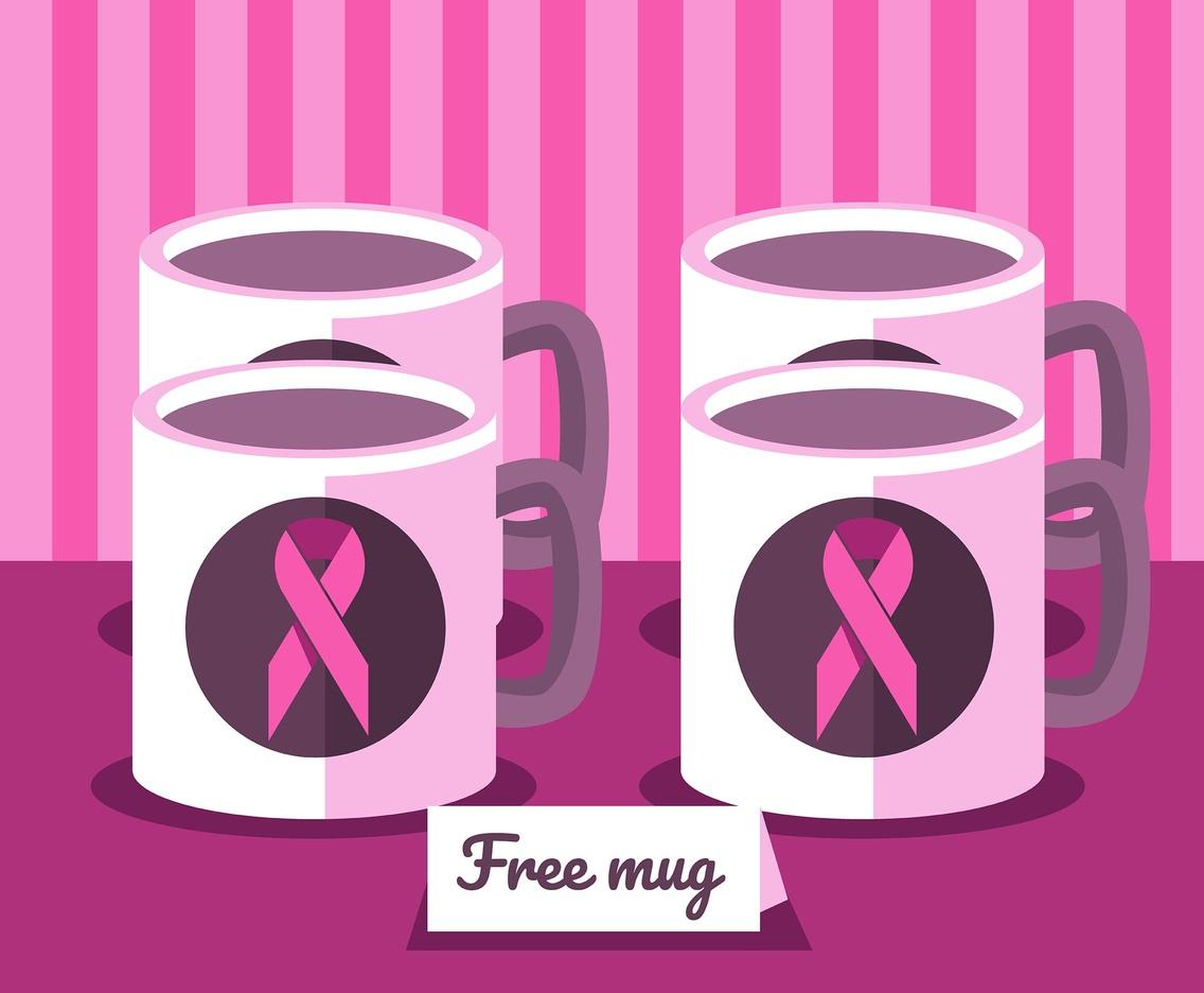 1136x936 Breast Cancer Aawareness Ribbon Vector Art Amp Graphics