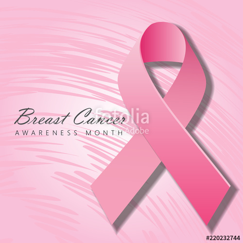 500x500 Breast Cancer Awareness Month Poster Or Banner Design With
