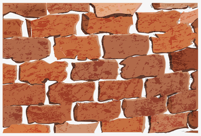 650x440 Brown Bricks Background Vector, Bricks, Hollow, Background Wall