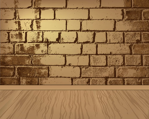 500x400 Elements Of Brick Wall Background Vector Free Vector In