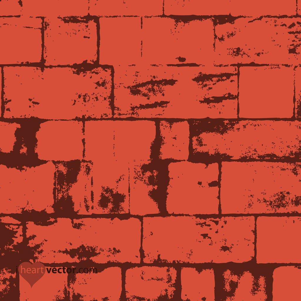 1024x1024 Free Bricks Background Vector Art Amp Graphics