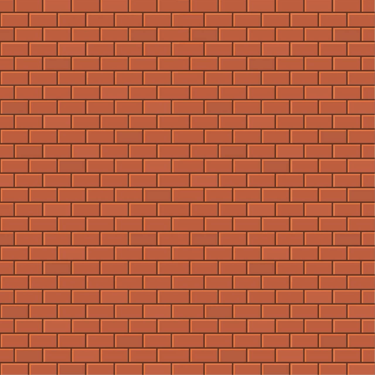 1280x1280 Free Vector Bricks Background