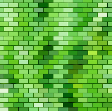 377x374 Green Brick Wall Texture Background Vector Free Vector In