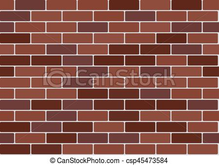 450x339 Red Brick Wallpaper. Red Brick Wall Background. Vector Seamless
