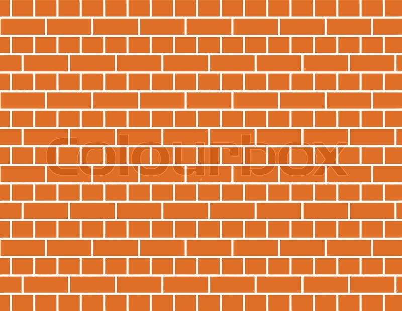 800x618 Vector Of A Red Brick Wall Background Stock Vector Colourbox