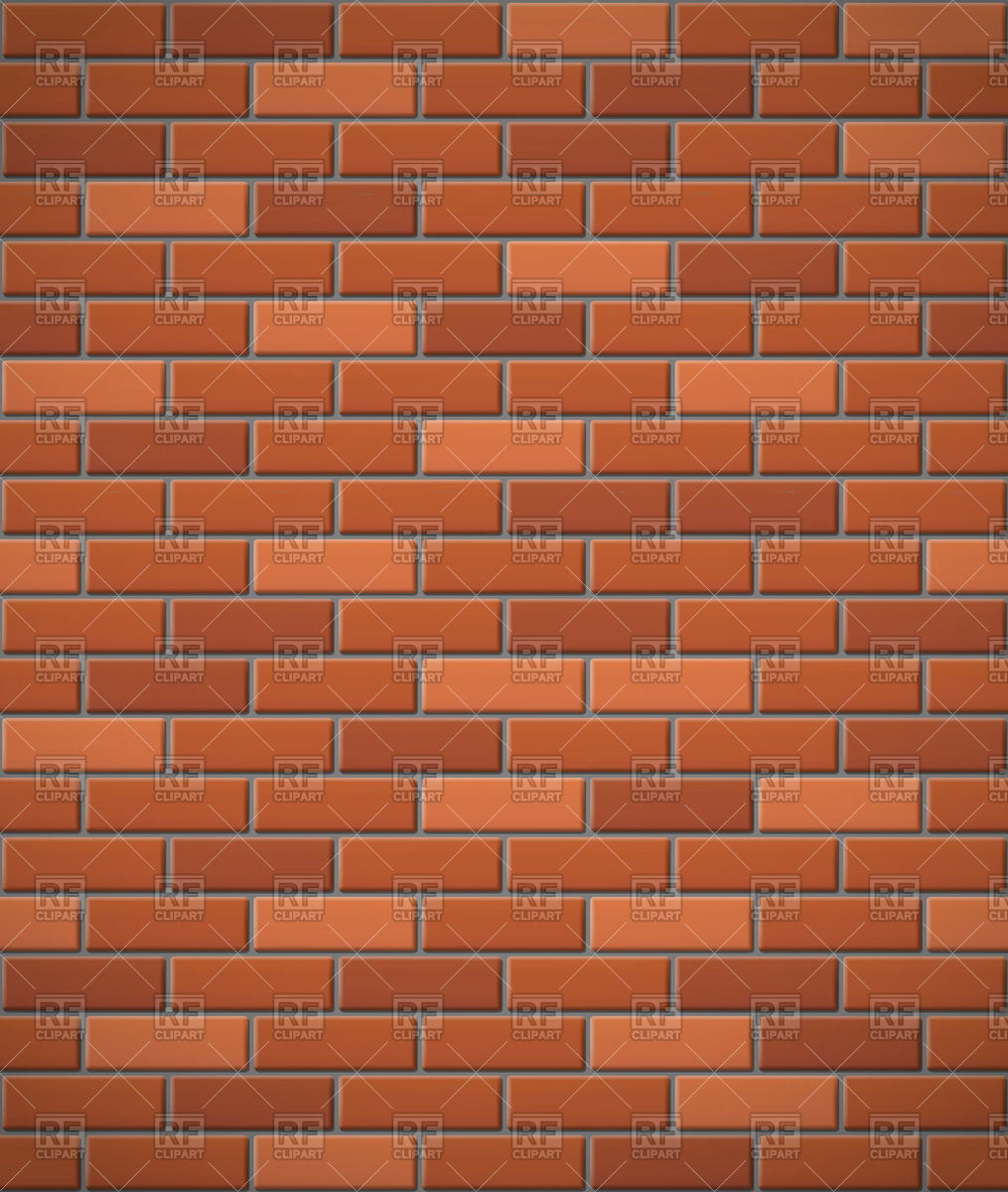 1015x1200 Wall Of Red Brick Seamless Background Vector Image Vector