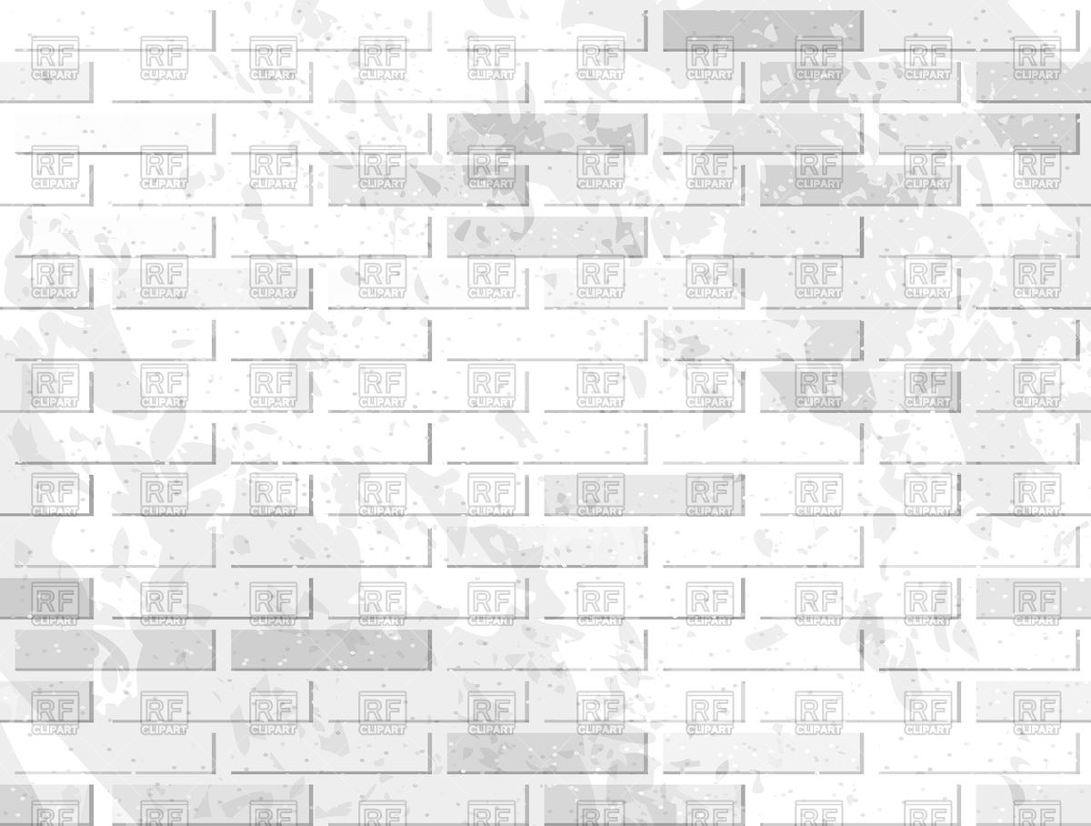 1200x908 White Brick Wall Background Vector Image Vector Artwork Of