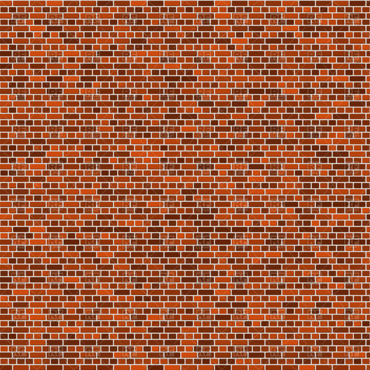 1200x1200 Brick Wall Background Vector Image Vector Artwork Of Backgrounds