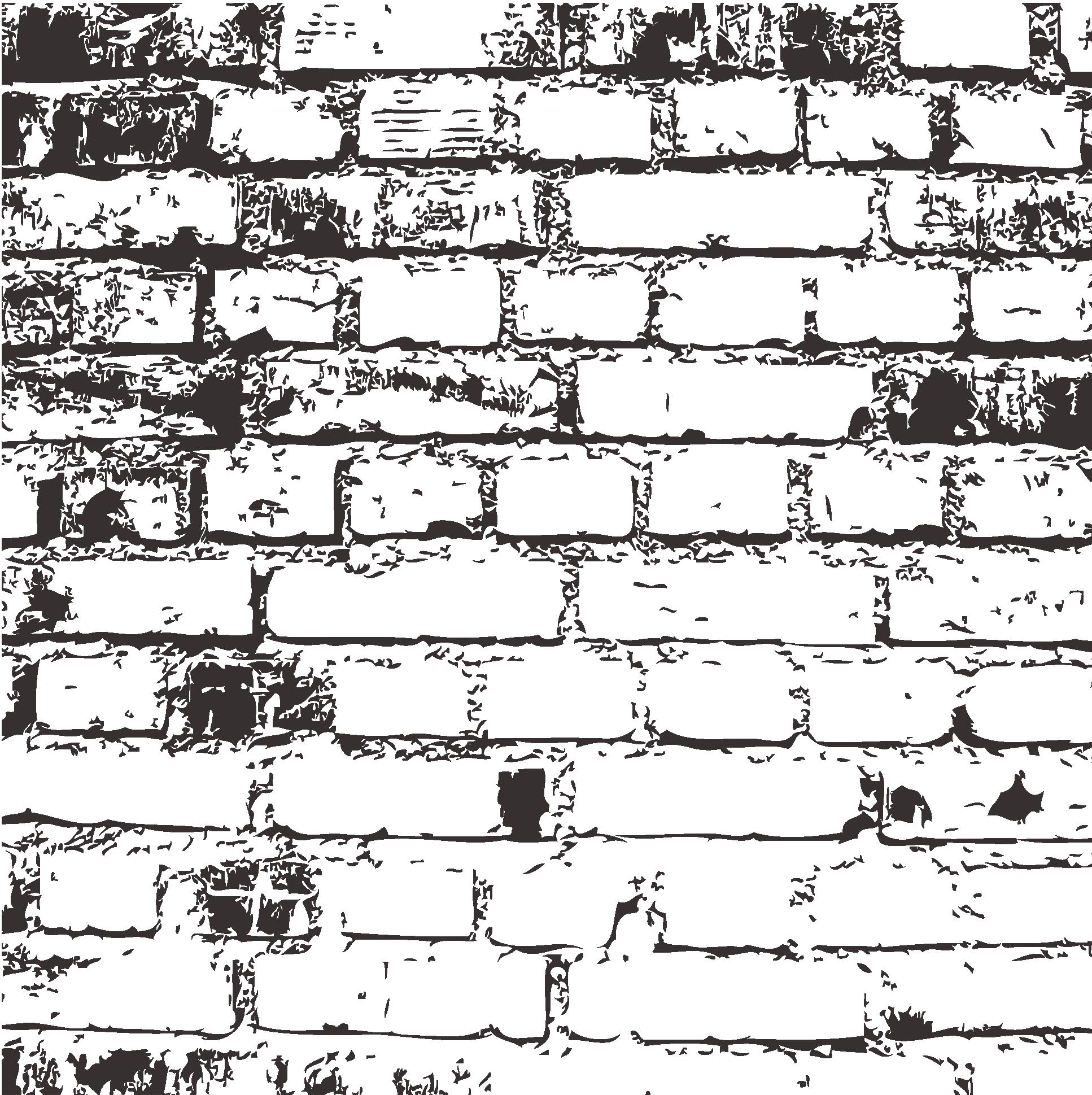 1934x1939 Black And White Brick Angle Pattern