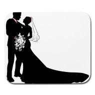 190x190 Bride Amp Groom Vector By Tinastees Spreadshirt