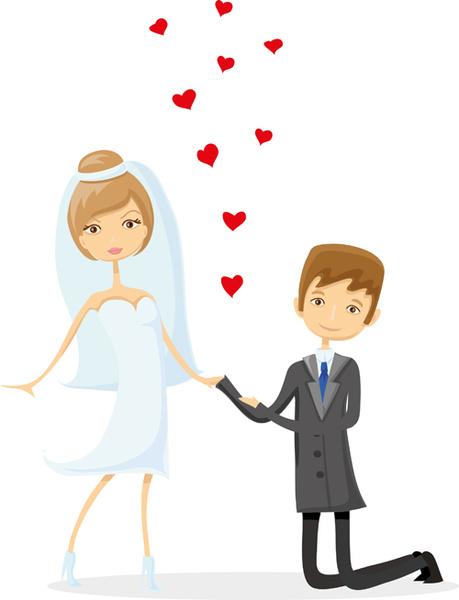 459x600 Romantic Bride And Groom Design Vector Free Vector In Adobe