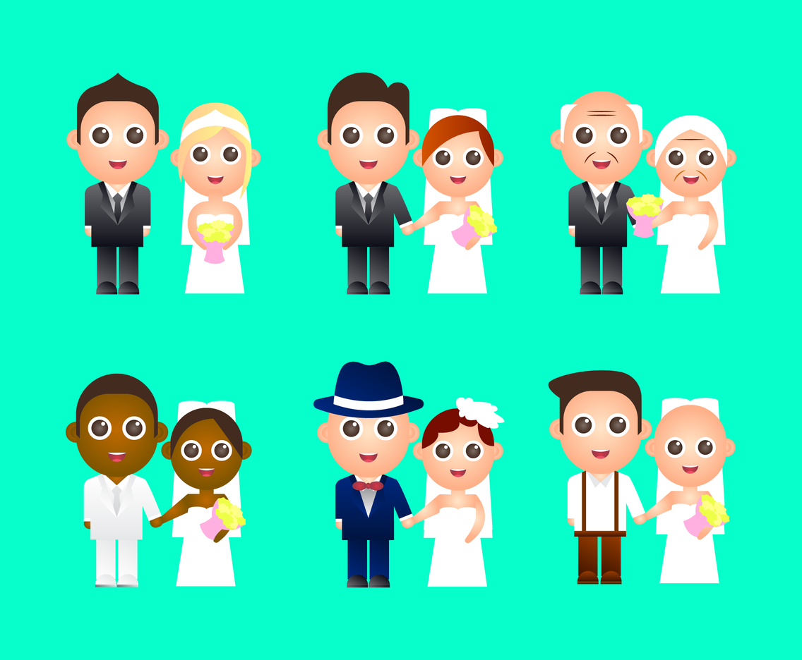 1136x936 Free Bride And Groom Vector Vector Art Amp Graphics