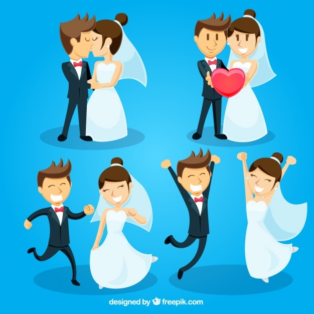 626x626 Bride And Groom Vectors, Photos And Psd Files Free Download
