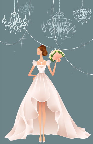 369x570 40 Zhang Meili Wedding Bride Vector