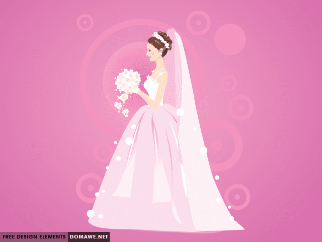 640x480 Bride In A Wedding Dress