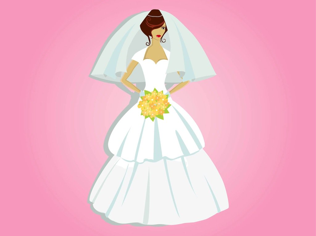 1024x767 Beautiful Bride Vector Art Amp Graphics