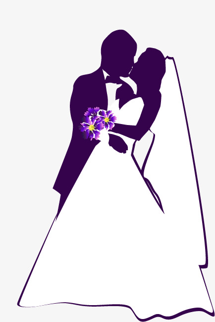 434x649 Vector Bride And Groom, Vector Character, Creative Wedding