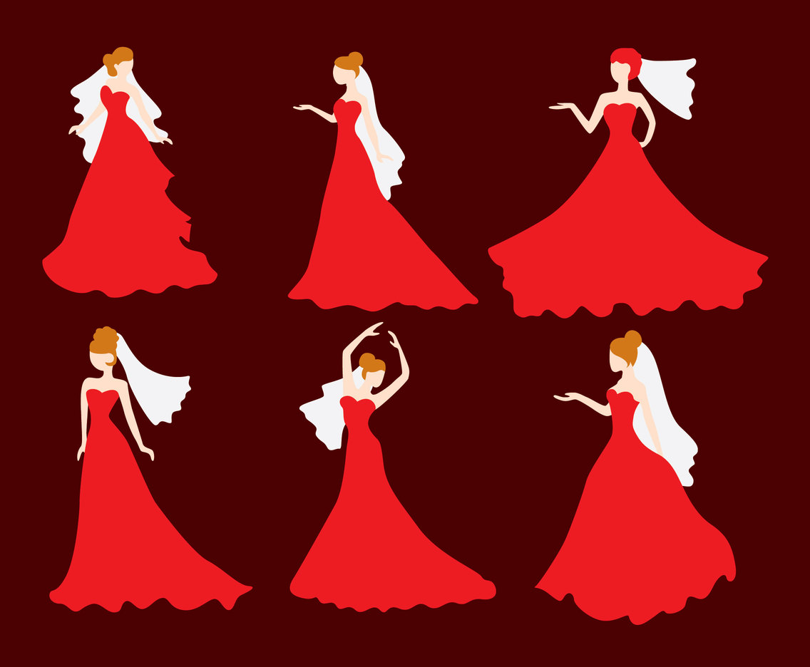 1136x936 Woman Bride Dress Vector Vector Art Amp Graphics
