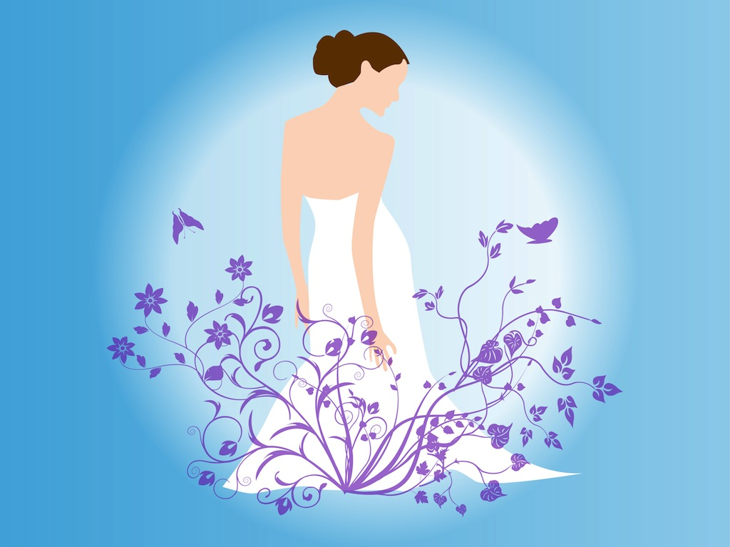 1024x767 Bride Vector Vector Art Amp Graphics