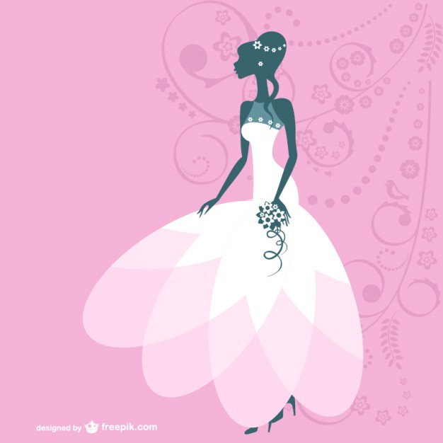 626x626 Bride Vector Illustration Vector Free Vector Download In .ai