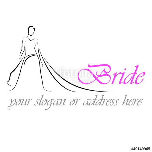 500x500 Design Logo Bride