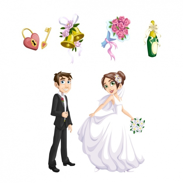 626x626 Groom And Bride Vectors, Photos And Psd Files Free Download