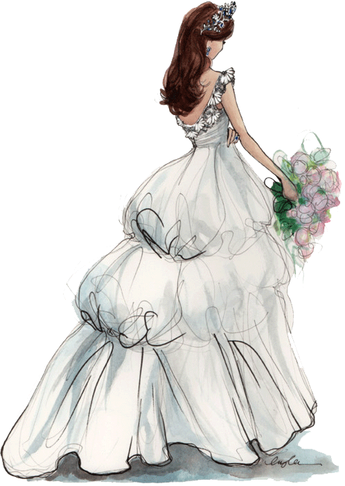 498x700 Wedding Bride Free Vector Donload