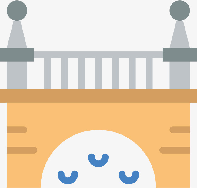 650x618 Flat Bridge Bridge Icon, Bridge, Bridge, Icon Icon Png And Vector