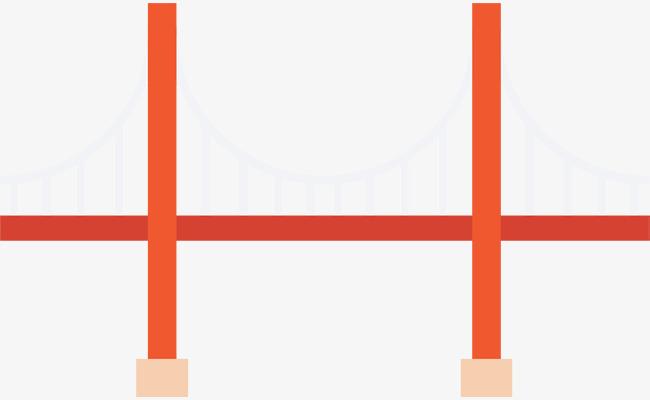 650x400 Red Bridge Icon, Bridge, Bridge, Icon Icon Png And Vector For Free