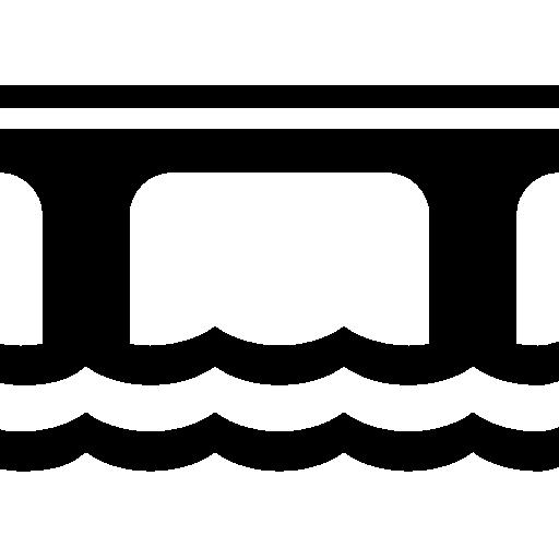 512x512 Bridge Icon Vector