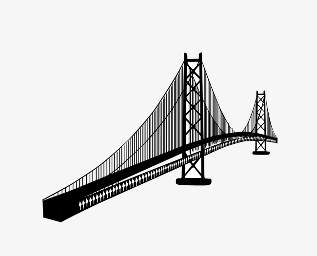 650x525 Bridge, Artwork Bridge, Vector Bridge Png And Vector For Free Download