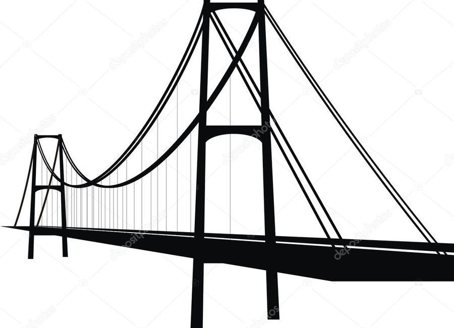 900x650 Download Bridge Vector Clipart Brooklyn Bridge Clip Art
