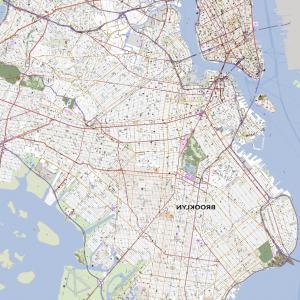 300x300 New York City Map Vector Illustration Lazttweet